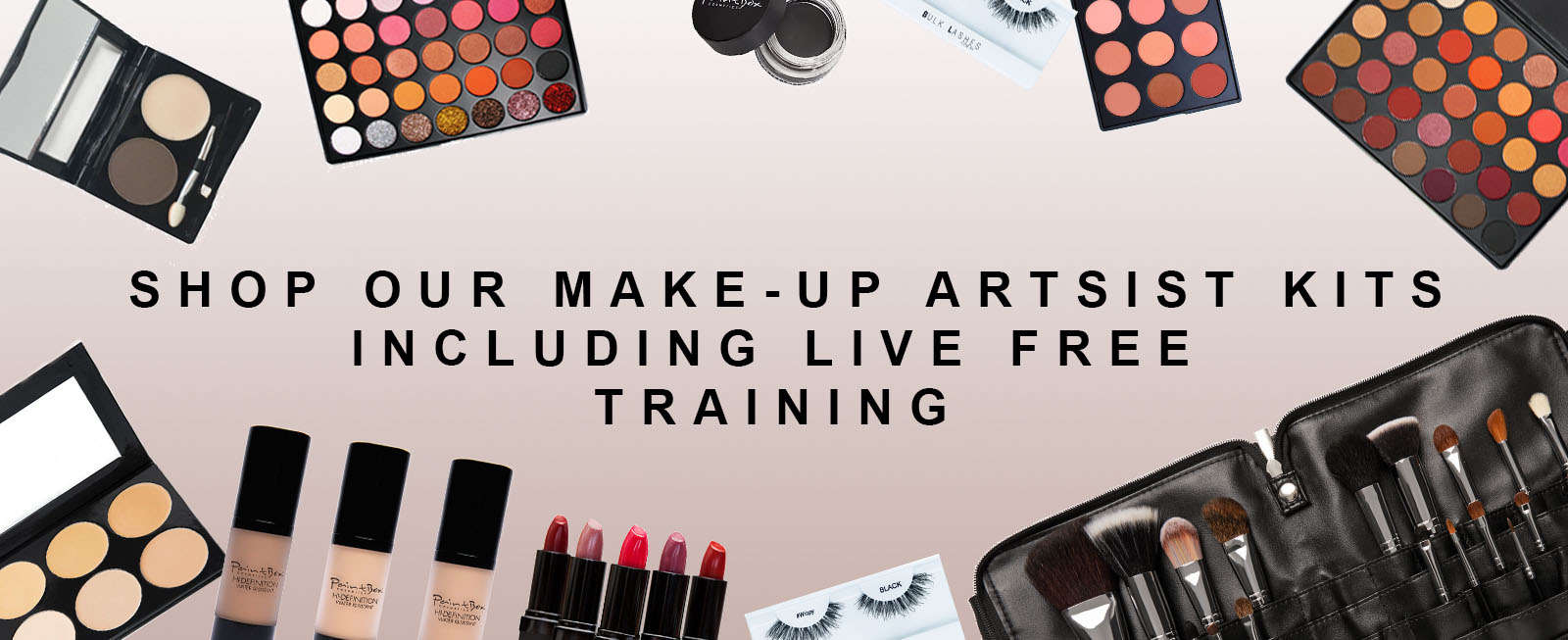 BANNER MAKE UP KITS AND FREE TRAINING