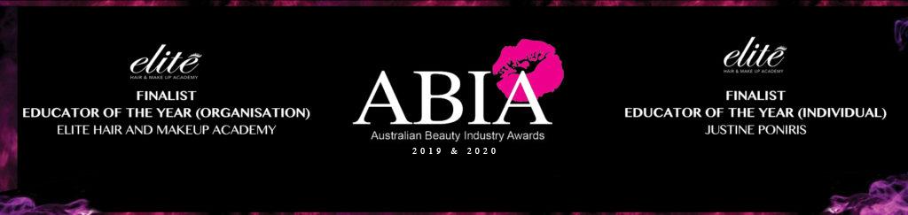 banner stating Elite's ABIA nomination in 2019 & 2020